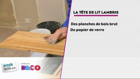 Comment faire une t te de lit lambris - Faire une tete de lit en lambris ...