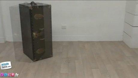 comment transformer une valise en bar. Black Bedroom Furniture Sets. Home Design Ideas