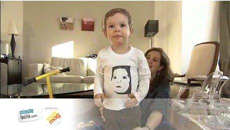 moins cher 9b1e6 8b3bb Comment mettre une photo sur un T-shirt ? - Minutefacile.com