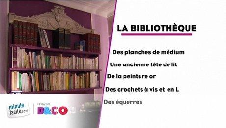 Comment faire une bibliothèque-tête de lit   - Minutefacile.com 09a15c5c7dce