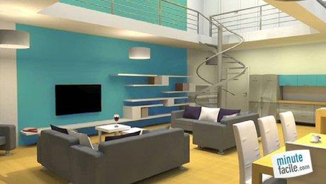 Le bleu en décoration d\'intérieur - Minutefacile.com