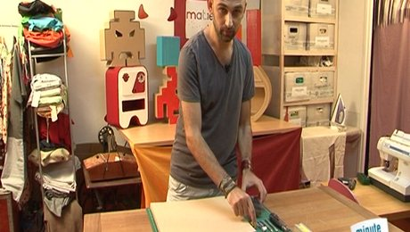 Lettre En Carton À Peindre : fabriquer une lettre en carton d corer ~ Nature-et-papiers.com Idées de Décoration