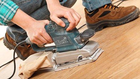 Nouveau Bricolage : poncer un parquet - Minutefacile.com GL-38