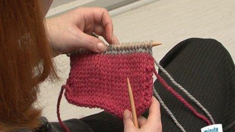 changement de couleur tricot