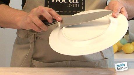 Aiguiser un couteau - Comment aiguiser un couteau de cuisine ...