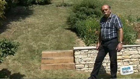 Construire un escalier de jardin - Minutefacile.com