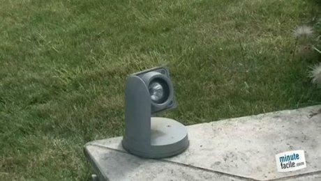 Réaliser un éclairage dans le jardin - Minutefacile.com