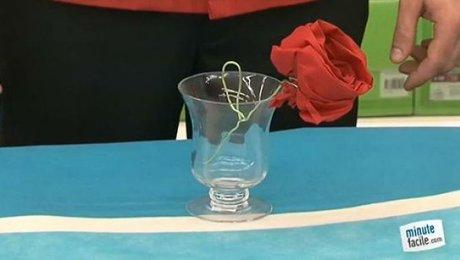 Réaliser Un Pliage De Serviette En Forme De Rose