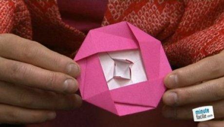 Origami Fleur Facile A4 Perfect Papier Origami Artisanat Bricolage