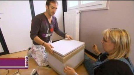 fabriquer un meuble de rangement original. Black Bedroom Furniture Sets. Home Design Ideas