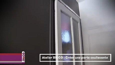 Opération Finale Pour La Pose De La Porte Coulissante ...