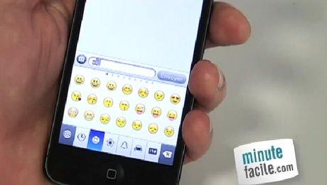 Ajouter un clavier smiley et emoticon sur son iPhone 5