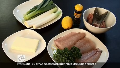 Repas Gastronomique Pour Moins De 5 Euros Minutefacile Com