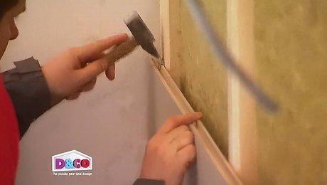 fixer tete de lit au mur tte de lit fixation tagres fabriquer une tte de lit bois fixer tete. Black Bedroom Furniture Sets. Home Design Ideas