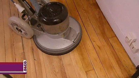 Audacieux Rénovation de parquet avec une mono-brosse - Minutefacile.com PO-11