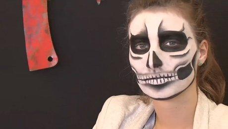 Faire Un Maquillage De Squelette Pour Halloween Minutefacilecom