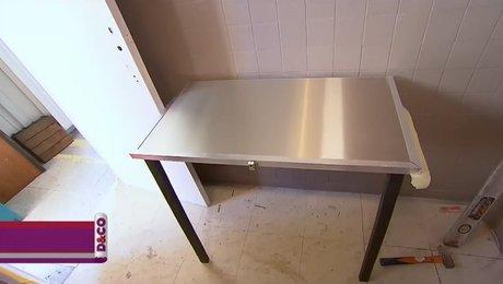 Creer Une Table Murale Rabattable Et Pliante Minutefacile Com