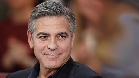 tuto coiffure homme coupe de george clooney. Black Bedroom Furniture Sets. Home Design Ideas