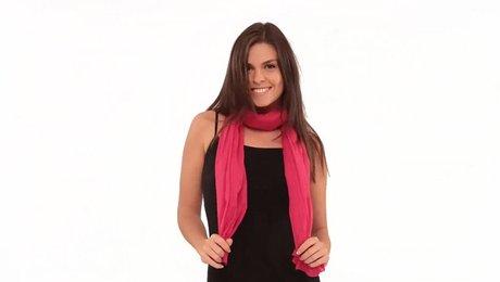 10 façons de porter un foulard - Minutefacile.com 9914780591a