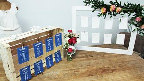 cr er un plan de table original pour son mariage. Black Bedroom Furniture Sets. Home Design Ideas