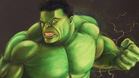Pastels Secs Technique Pour Dessiner Hulk Facilement