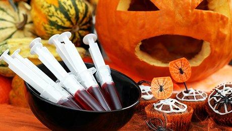 recettes d 39 ap ritifs et de buffet d natoire pour halloween. Black Bedroom Furniture Sets. Home Design Ideas