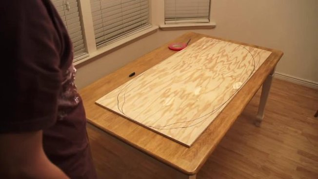 comment fabriquer une planche de skimboard en bois. Black Bedroom Furniture Sets. Home Design Ideas