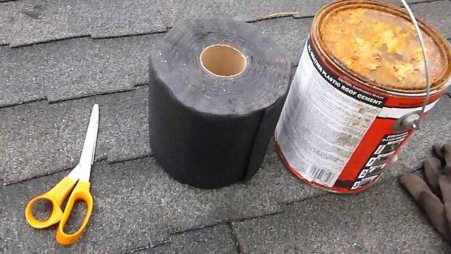 Reparation fuite toiture