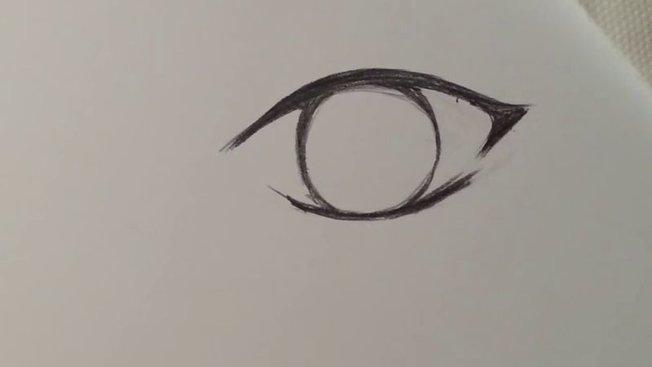 Comment Dessiner Un œil D Un Personnage Féminin De Manga