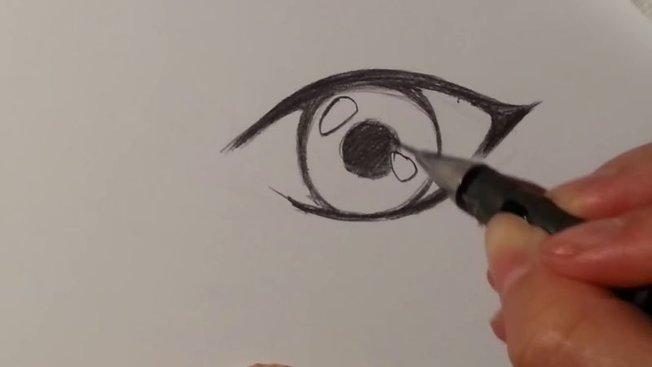 Comment Dessiner Un œil D Un Personnage Feminin De Manga