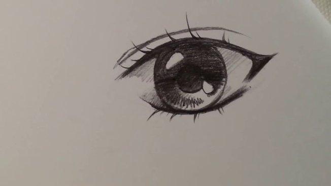 Comment Dessiner Un œil Dun Personnage Féminin De Manga