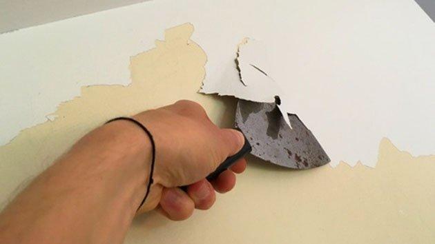 Comment Decaper La Peinture Des Murs Minutefacile Com