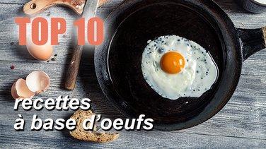 Top 10 Des Recettes A Base D Oeufs Top Listes Des Videos