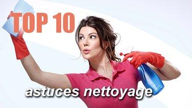 top 10 des astuces nettoyage top listes des vid os. Black Bedroom Furniture Sets. Home Design Ideas