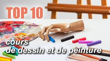 top 10 des conseils pour apprendre peindre et dessiner top listes des vid os. Black Bedroom Furniture Sets. Home Design Ideas