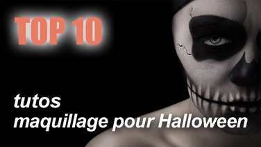 Top 10 Des Maquillages Halloween à Faire Soi Même Top